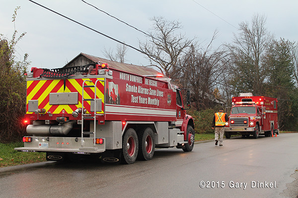 North Dumfries Township Ontario Ayer fire truck