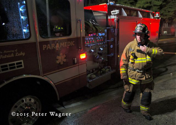 Dan McInerney Oak Park firefighter