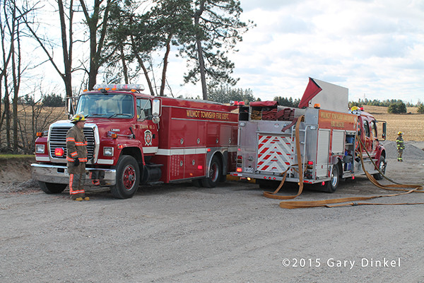 Wilmot Township fire trucks