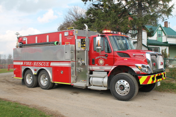 Wellesley Township FD fire truck