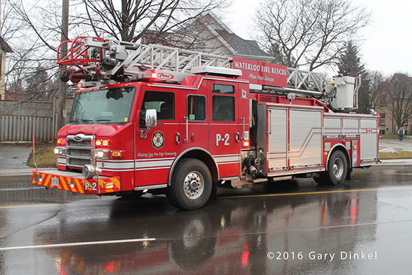 Waterloo Ontario fire truck