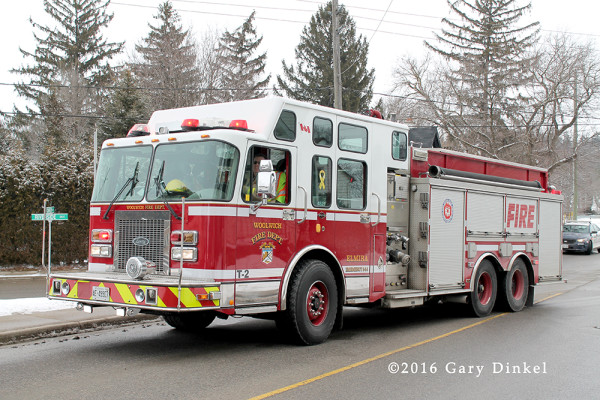 Elmira Ontario fire engine