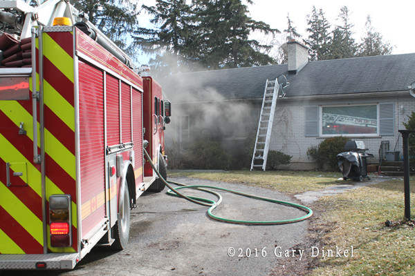 house fire in Cambridge Ontario Canada