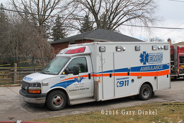 ambulance in Cambridge Ontario