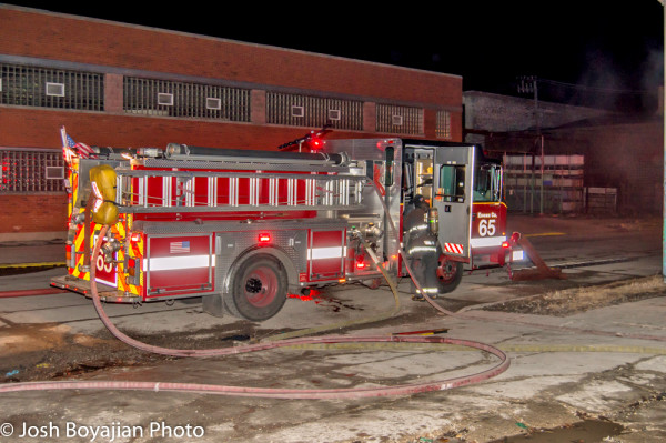 Chicago FD Engine 65 at work