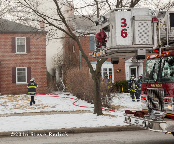 Park Ridge IL house fire