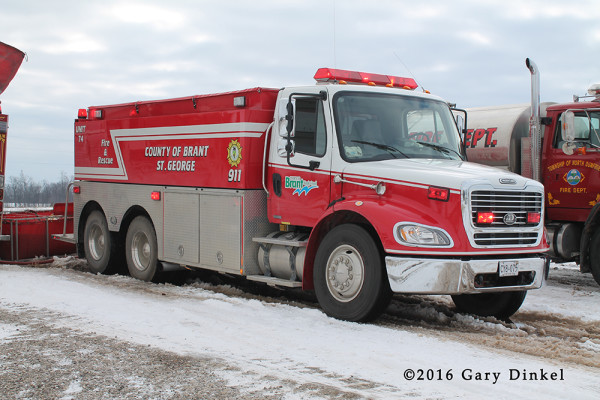St George FD tender