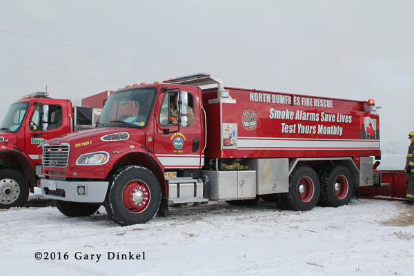 North Dumfries fire truck