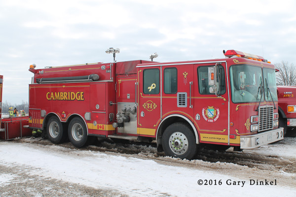 Cambridge Ontario FD fire truck
