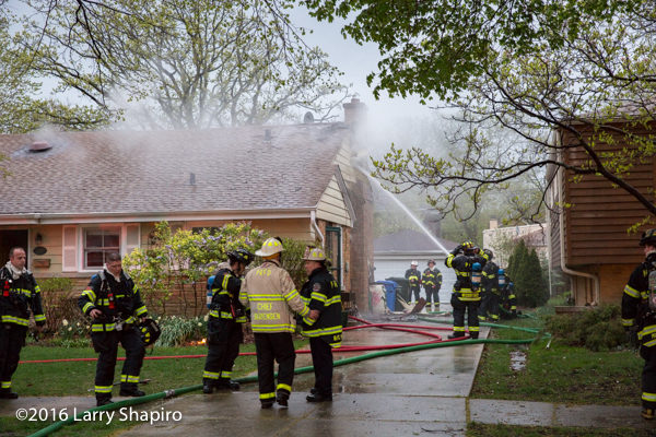 Park Ridge house fire