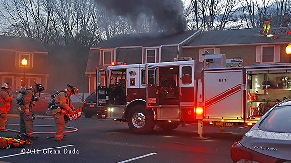 apartment fire in Wallingford CT