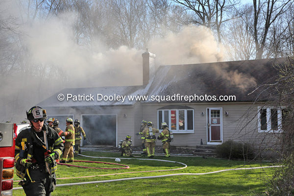 house fire in Hebron CT