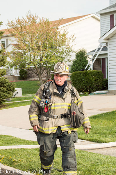 Carol Stream Fire District Deputy Chief Bob Hoff