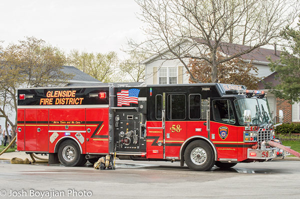 Glenside Fire District fire engine