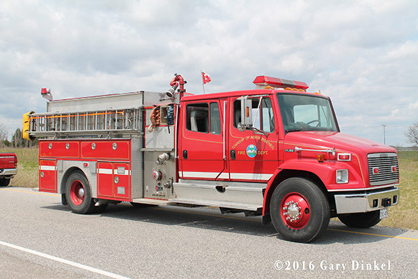 North Dumfries fire engine