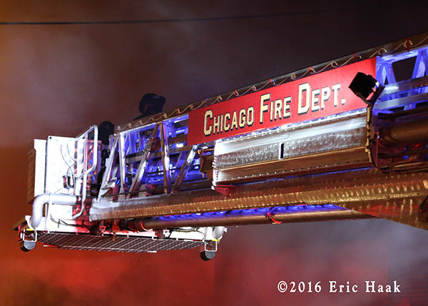 Chicago FD tower ladder