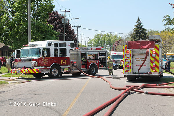 Kitchener Ontario fire trucks