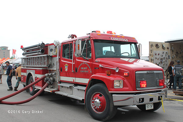 Woolwich Township fire truck Conestoga
