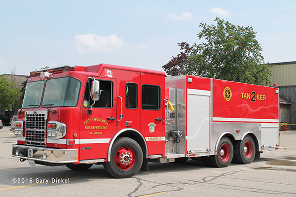 Woolwich Township fire truck