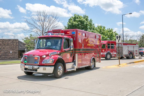 Buffalo Grove Fire Department apparatus
