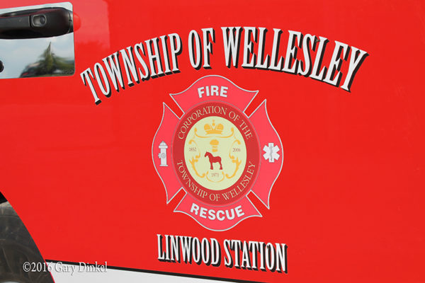 Wellesley Township Fire Department decal