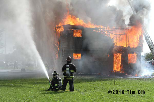 fire department burn down