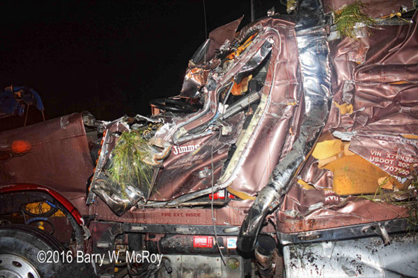 truck driver killed in crash on I95 in SC