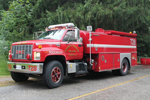 Township of Ermosa fire truck