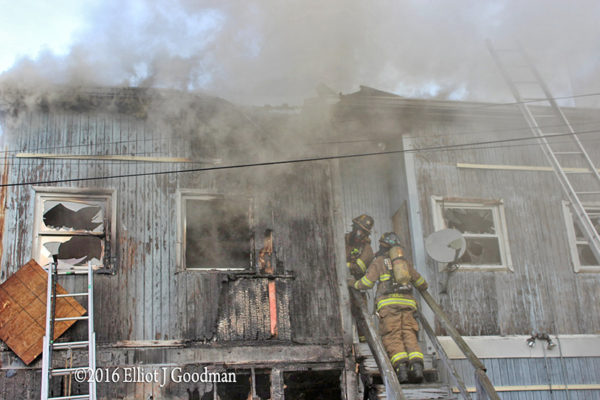 DCFD firefighters at work