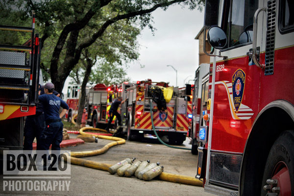 San Antonio fire engines