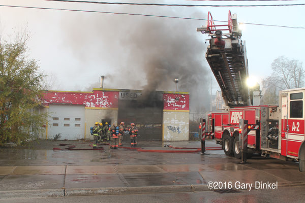 fire in Kitchener Ontario
