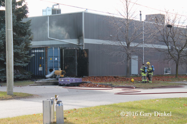 Kitchener Fire Department on scene
