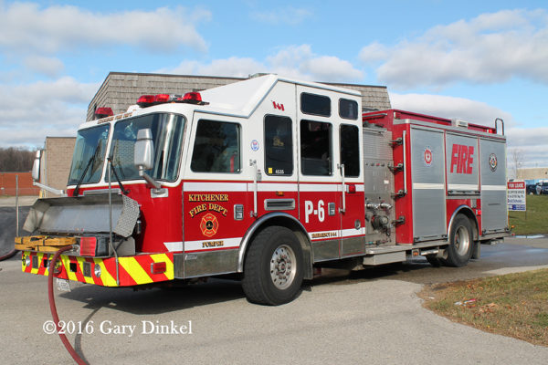 Kitchener FD apparatus