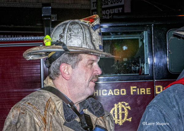 Chciago FD Chaplain Fr Thomas Mulcrone