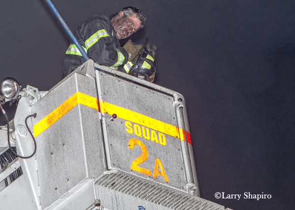 Chicago Squad 2 Firefighter with dirty face
