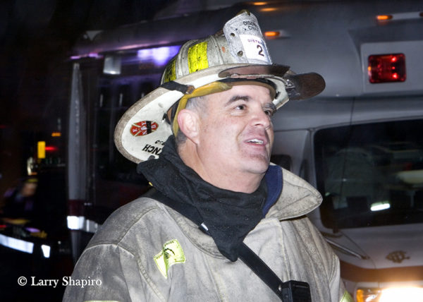 Chicago FD District Chief Ben Gareti