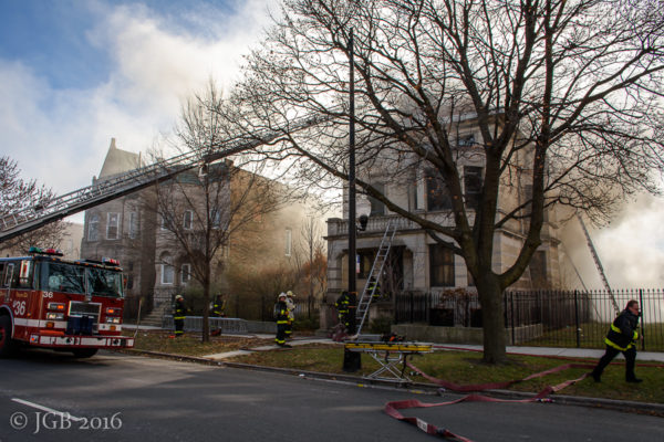 house fire in Chicago