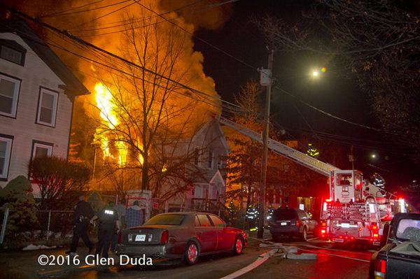 Christmas Day fire in New Haven
