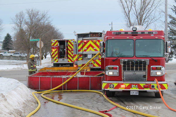 Wellesley Township fire trucks