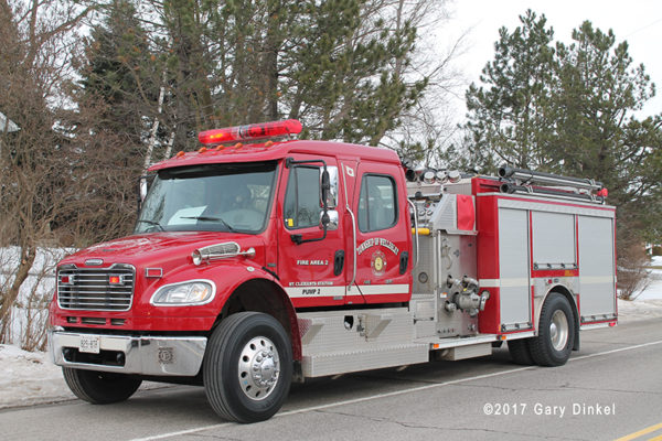 Wellesley Township fire truck