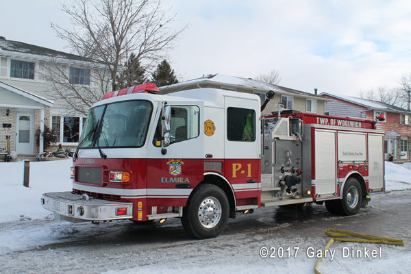 Elmira fire engine