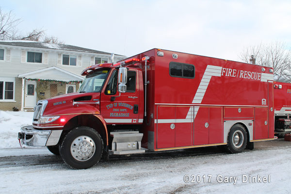 Woolwich Township fire truck - Floradale