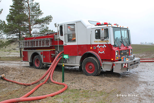 Mack Thibault fire engine