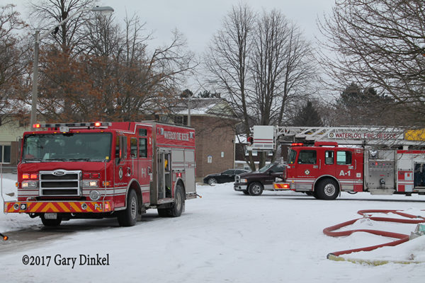 Waterloo Ontario fire trucks