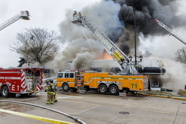 VIP Bridal shop destroyed by fire