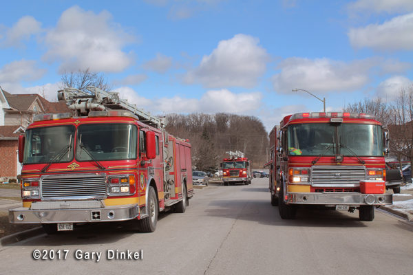 Cambridge Ontario fire trucks