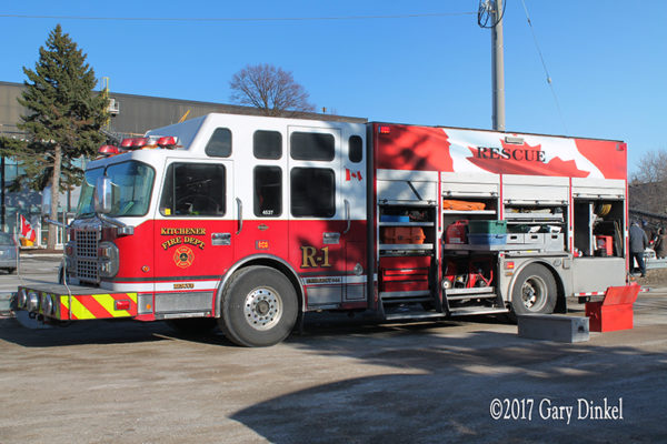 Kitchener FD Rescue 1