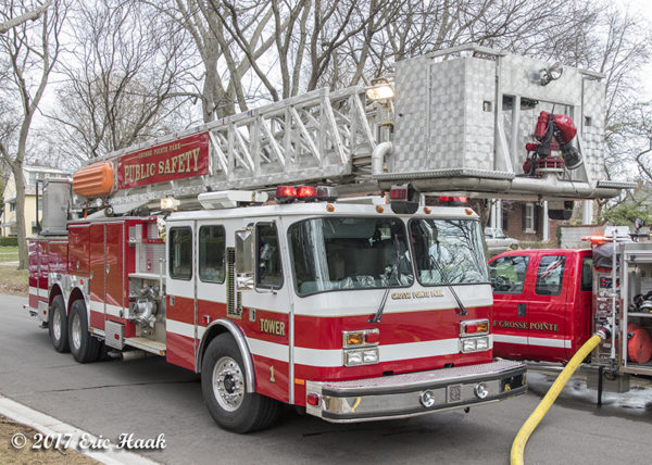 Grosse Pointe Park fire truck