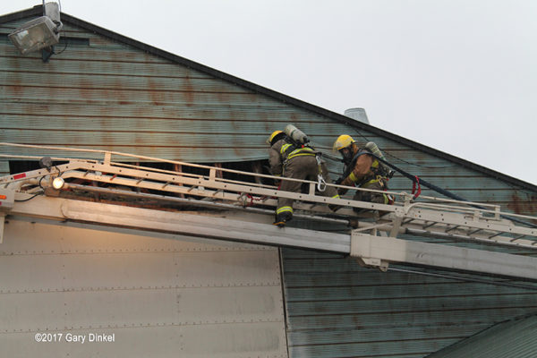 firefighters in Wellesley Township Ontario