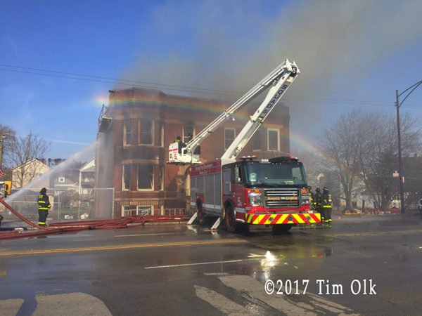 Chicago FD Squad 5A at work